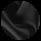 Мужская черная парка зимняя с манжетами модель 9255