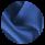 Мужская зимняя куртка цвет синий-электрик модель 45115