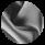 Женский зимний воздуховик цвет темное серебро модель 31072