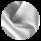 Серебряный воздуховик на зиму женский модель 31094