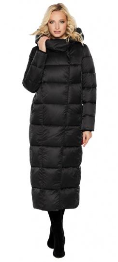 """Женская фирменная куртка чёрная модель 31056 Braggart """"Angel's Fluff"""" фото 1"""