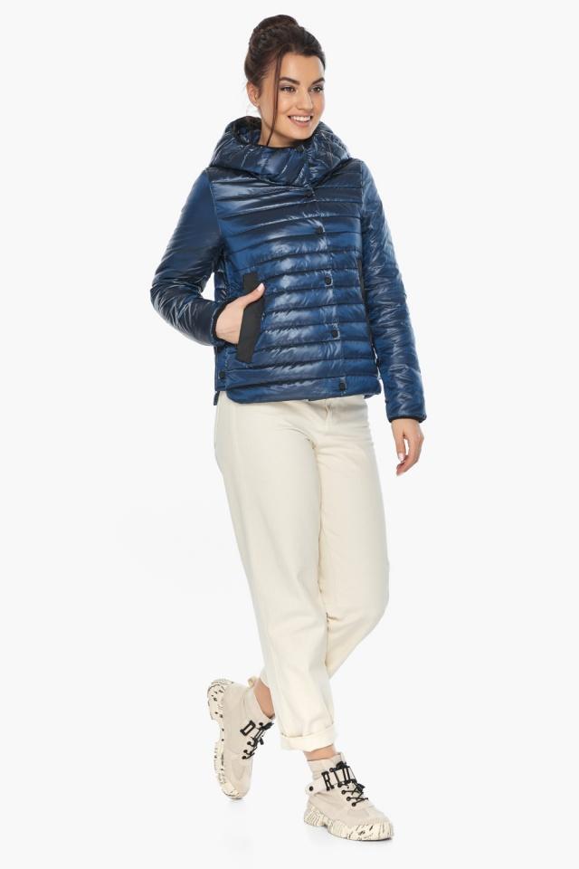 """Женская куртка осенне-весенняя фирменная цвет ниагара модель 64150 Braggart """"Angel's Fluff"""" фото 2"""