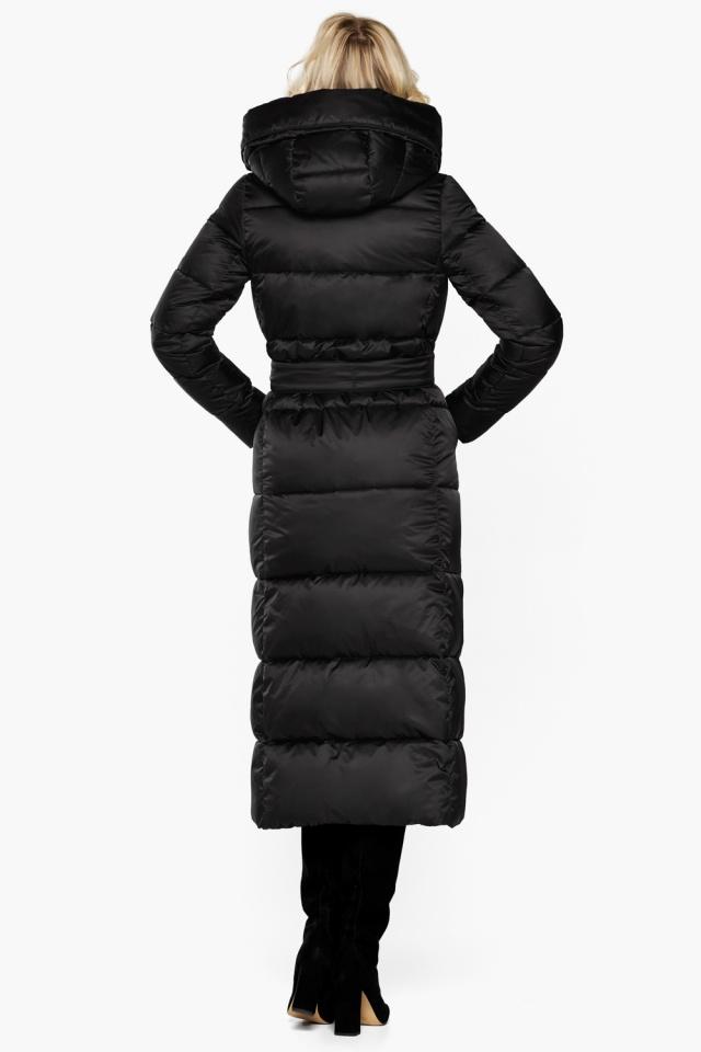 """Женская фирменная куртка чёрная модель 31056 Braggart """"Angel's Fluff"""" фото 8"""