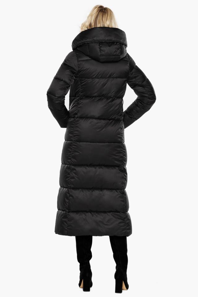 """Женская фирменная куртка чёрная модель 31056 Braggart """"Angel's Fluff"""" фото 7"""