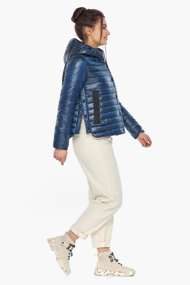 """Женская куртка осенне-весенняя фирменная цвет ниагара модель 64150 Braggart """"Angel's Fluff"""" фото 3"""