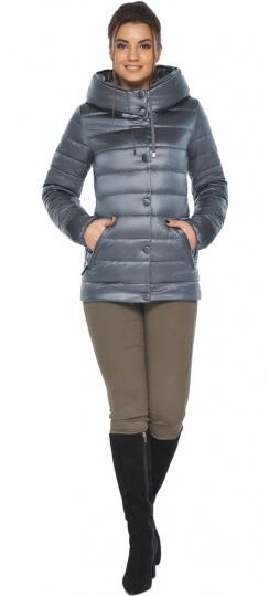 """Осенняя куртка с карманами женская цвет маренго модель 61030 Braggart """"Angel's Fluff"""" фото 1"""