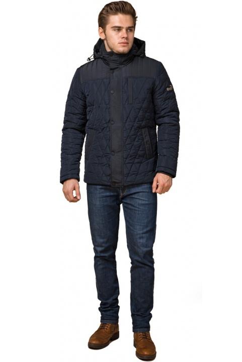 """Стильна зимова куртка чоловіча синя модель 30538 Braggart """"Dress Code"""" фото 1"""
