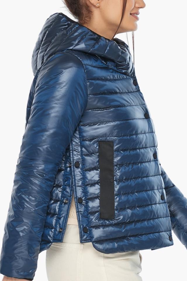 """Женская куртка осенне-весенняя фирменная цвет ниагара модель 64150 Braggart """"Angel's Fluff"""" фото 6"""