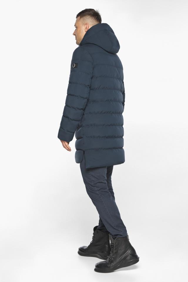 "Зимняя практичная куртка тёмно-синяя модель 49080 Braggart ""Aggressive"" фото 8"