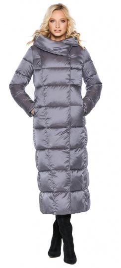 """Комфортная куртка жемчужно-серая женская модель 31056 Braggart """"Angel's Fluff"""" фото 1"""