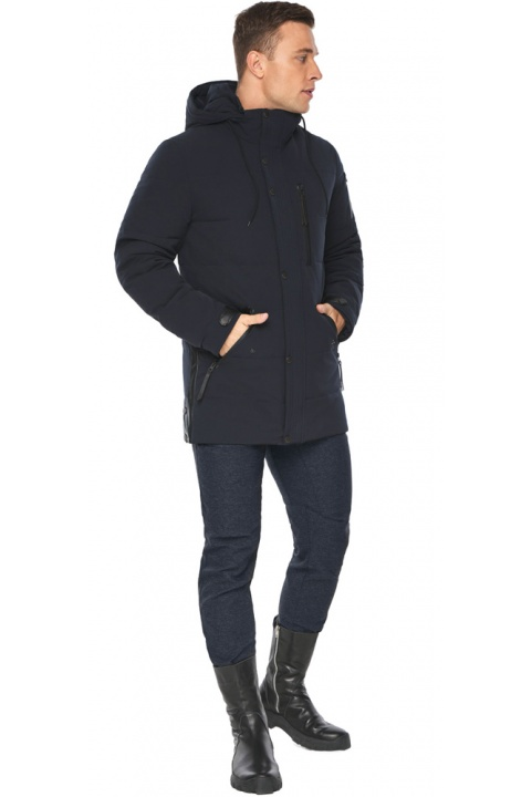 "Парка – воздуховик синий модный мужской на зиму модель 19650 Braggart ""Angel's Fluff Man"" фото 1"