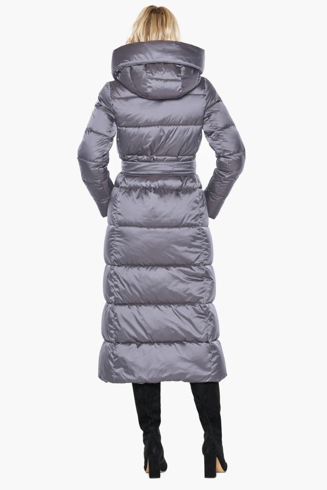 """Комфортная куртка жемчужно-серая женская модель 31056 Braggart """"Angel's Fluff"""" фото 7"""