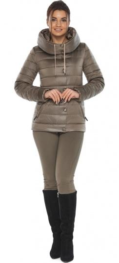 """Женская капучиновая куртка стильная осенне-весенняя модель 61030 Braggart """"Angel's Fluff"""" фото 1"""
