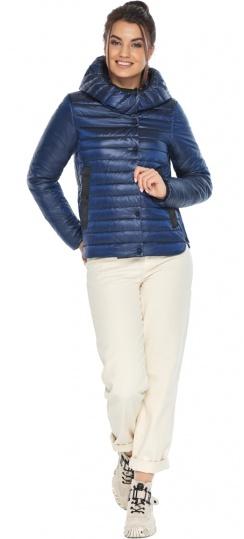 """Женская куртка сапфировая комфортная осенне-весенняя модель 64150 Braggart """"Angel's Fluff"""" фото 1"""