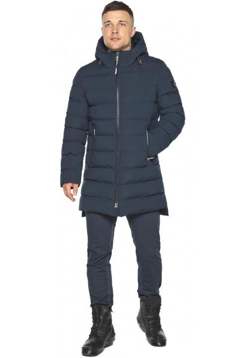 "Зимняя практичная куртка тёмно-синяя модель 49080 Braggart ""Aggressive"" фото 1"