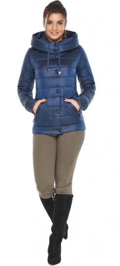 """Женская куртка модная весенняя цвет сапфировый модель 61030 Braggart """"Angel's Fluff"""" фото 1"""