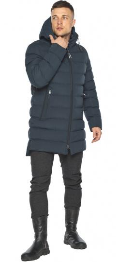 "Графитово-синяя курточка на зиму для мужчин модель 49080 Braggart ""Aggressive"" фото 1"