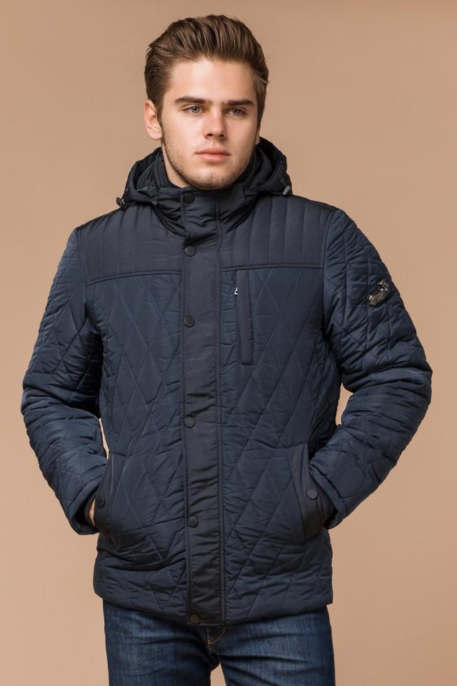 """Стильная зимняя куртка для мальчиков светло-синяя модель 30538 Braggart """"Dress Code"""" фото 4"""