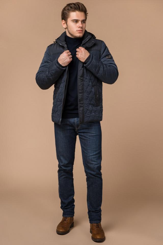 """Стильная зимняя куртка для мальчиков светло-синяя модель 30538 Braggart """"Dress Code"""" фото 3"""