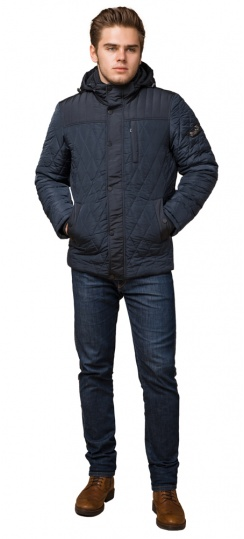 """Стильная зимняя куртка для мальчиков светло-синяя модель 30538 Braggart """"Dress Code"""" фото 1"""