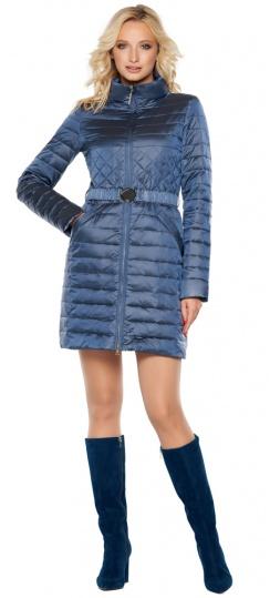 """Куртка с карманами осенне-весенняя женская цвет ниагара модель 39002 Braggart """"Angel's Fluff"""" фото 1"""