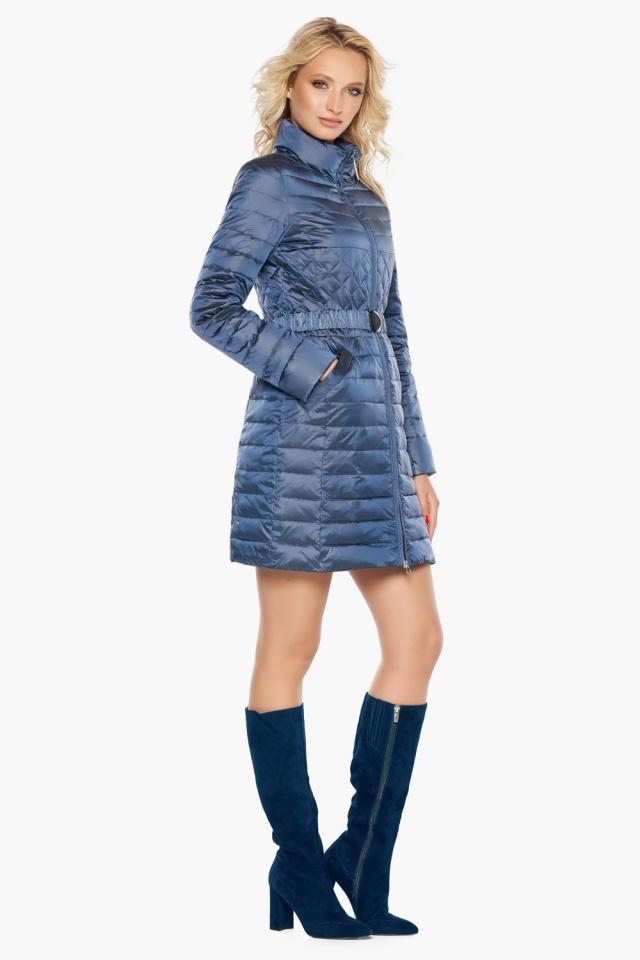 """Куртка с карманами осенне-весенняя женская цвет ниагара модель 39002 Braggart """"Angel's Fluff"""" фото 3"""