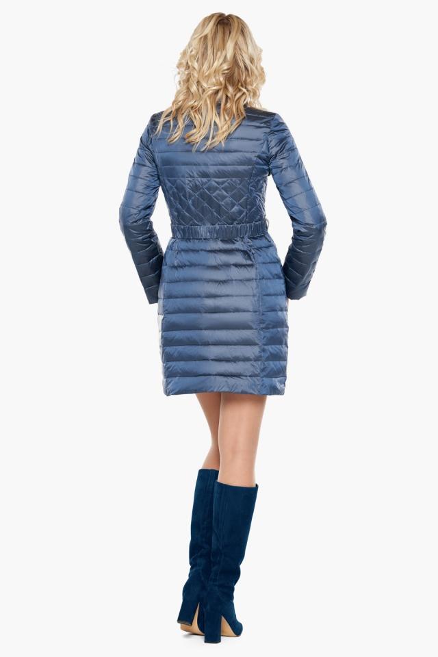 """Куртка с карманами осенне-весенняя женская цвет ниагара модель 39002 Braggart """"Angel's Fluff"""" фото 5"""