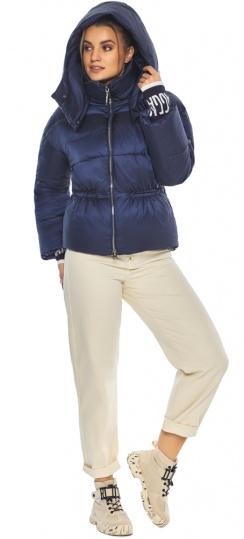 "Зимняя куртка фирменная женская синий бархат модель 41975 Braggart ""Angel's Fluff"" фото 1"