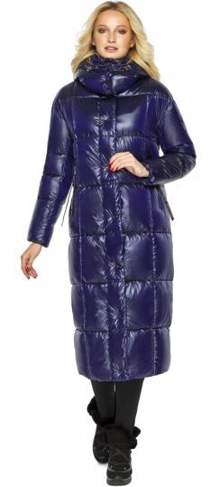 """Куртка женская фирменная цвет синий бархат модель 42830 Braggart """"Angel's Fluff"""" фото 1"""