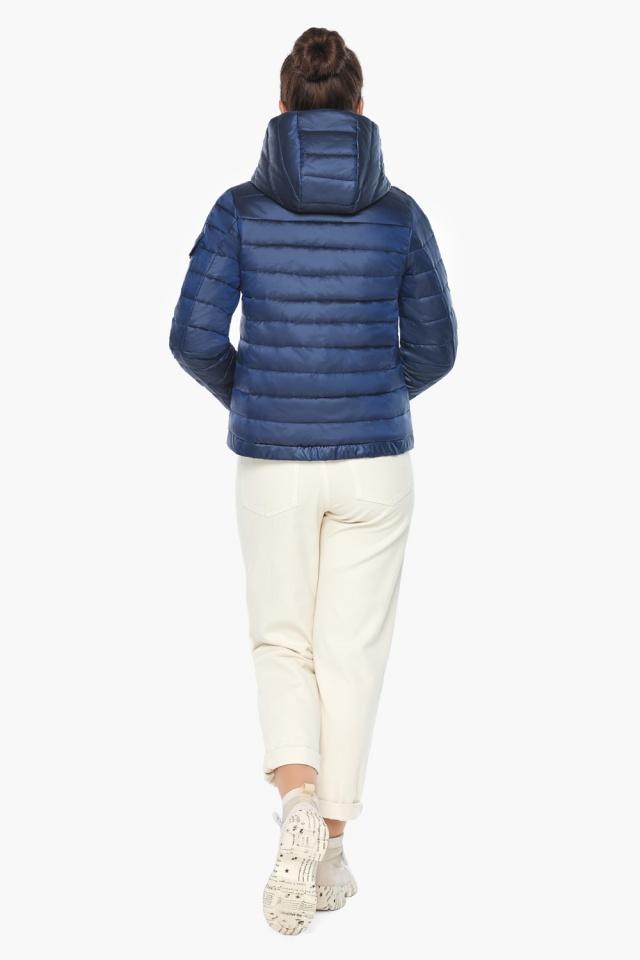 """Сапфировая куртка трендовая женская осенняя модель 62574 Braggart """"Angel's Fluff"""" фото 6"""