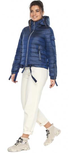 """Сапфировая куртка трендовая женская осенняя модель 62574 Braggart """"Angel's Fluff"""" фото 1"""