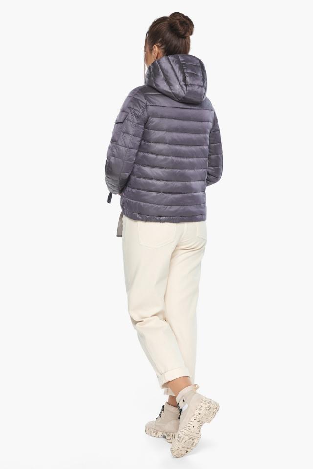 """Куртка лавандовая женская модная на осень-весну модель 62574 Braggart """"Angel's Fluff"""" фото 6"""