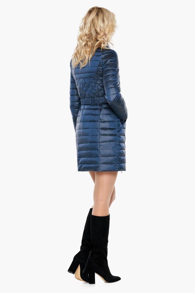 """Женская куртка осенне-весенняя модная цвет темная лазурь модель 39002 Braggart """"Angel's Fluff"""" фото 5"""