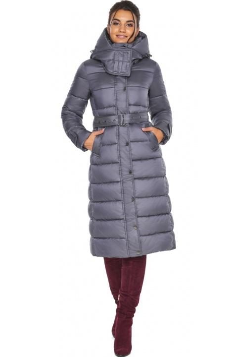 """Перлинно-сіра куртка з манжетами жіноча модель 43110 Braggart """"Angel's Fluff"""" фото 1"""
