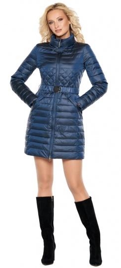 """Женская куртка осенне-весенняя модная цвет темная лазурь модель 39002 Braggart """"Angel's Fluff"""" фото 1"""