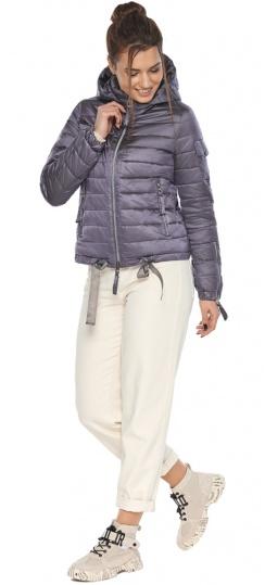 """Куртка лавандовая женская модная на осень-весну модель 62574 Braggart """"Angel's Fluff"""" фото 1"""