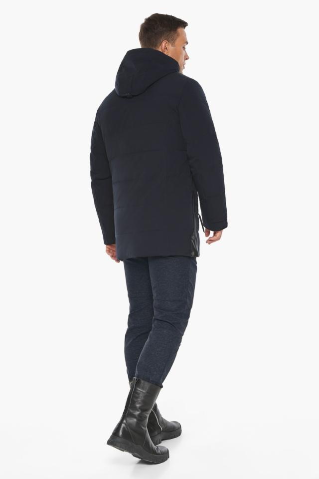 """Куртка – воздуховик синего цвета мужской на зиму модель 19650 Braggart """"Angel's Fluff Man"""" фото 8"""