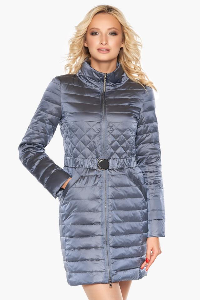 """Женская осенне-весенняя куртка практичная цвет маренго модель 39002 Braggart """"Angel's Fluff"""" фото 3"""
