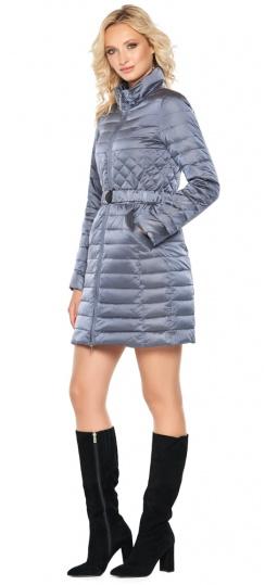 """Женская осенне-весенняя куртка практичная цвет маренго модель 39002 Braggart """"Angel's Fluff"""" фото 1"""