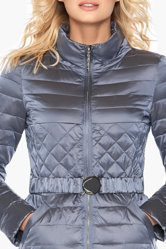 """Женская осенне-весенняя куртка практичная цвет маренго модель 39002 Braggart """"Angel's Fluff"""" фото 6"""