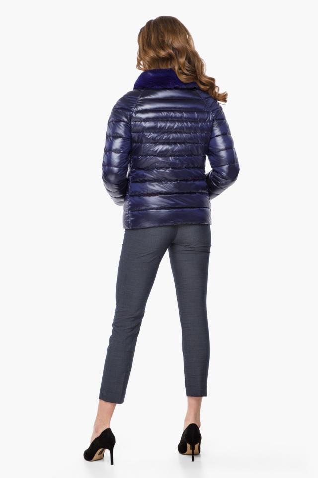 """Фиолетовая женская куртка на молнии осенне-весенняя модель 40267 Braggart """"Angel's Fluff"""" фото 5"""