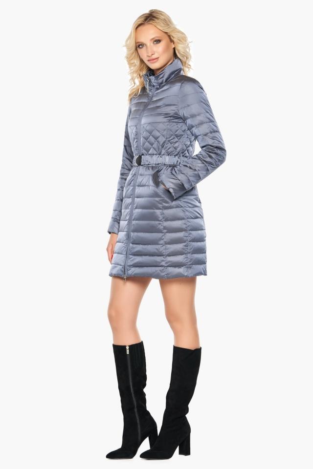 """Женская осенне-весенняя куртка практичная цвет маренго модель 39002 Braggart """"Angel's Fluff"""" фото 2"""