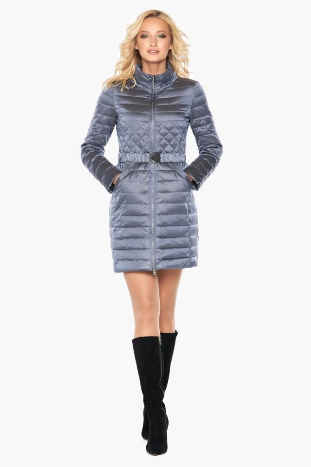 """Женская осенне-весенняя куртка практичная цвет маренго модель 39002 Braggart """"Angel's Fluff"""" фото 4"""