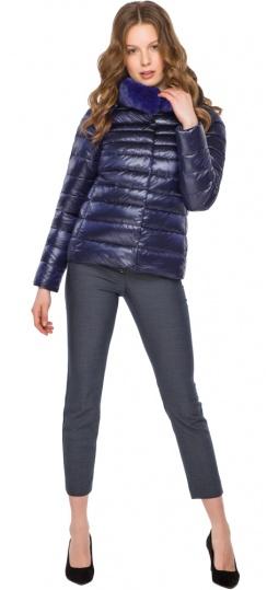 """Фиолетовая женская куртка на молнии осенне-весенняя модель 40267 Braggart """"Angel's Fluff"""" фото 1"""