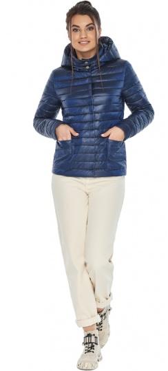 """Куртка сапфировая женская осенне-весенняя с внешними карманами модель 67510 Braggart """"Angel's Fluff"""" фото 1"""