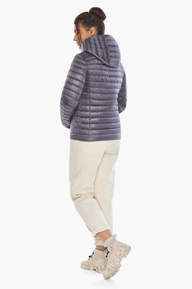 """Осенне-весенняя лавандовая куртка женская брендовая модель 67510 Braggart """"Angel's Fluff"""" фото 7"""