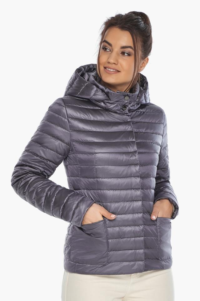 """Осенне-весенняя лавандовая куртка женская брендовая модель 67510 Braggart """"Angel's Fluff"""" фото 3"""