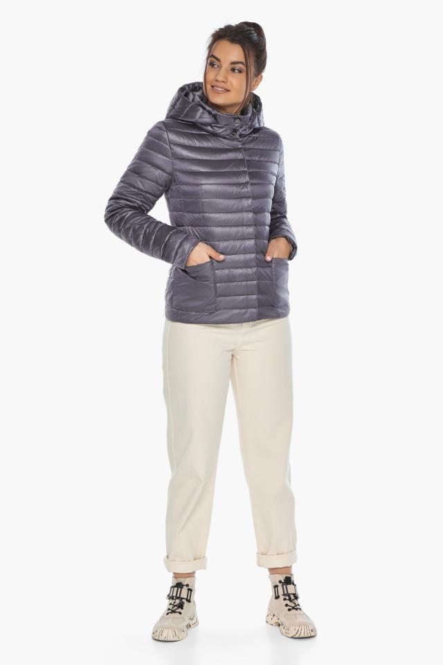 """Осенне-весенняя лавандовая куртка женская брендовая модель 67510 Braggart """"Angel's Fluff"""" фото 5"""