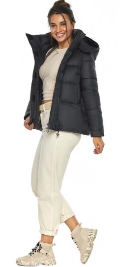 """Куртка черная женская фирменная модель 43560 Braggart """"Angel's Fluff"""" фото 1"""