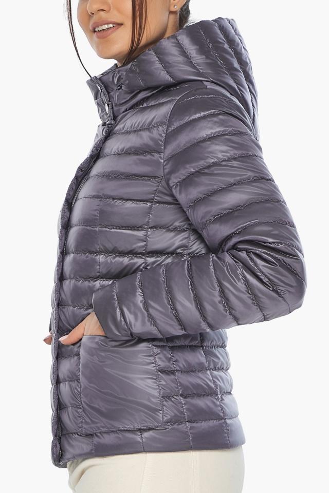 """Осенне-весенняя лавандовая куртка женская брендовая модель 67510 Braggart """"Angel's Fluff"""" фото 8"""